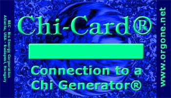Chi-card for chi generators